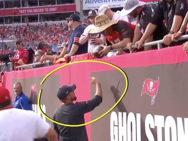 The fan who gave back Tom Brady's 600th touchdown ball made a huge mistake