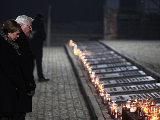 Holocaust survivors warn of anti-Semitism at Auschwitz liberation anniversary
