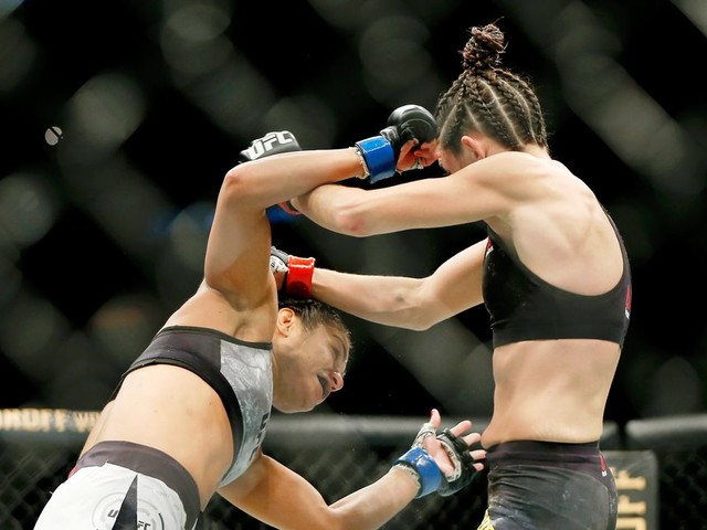 UFC DC video highlights: Marina Rodriguez and Cynthia Calvillo battle to draw