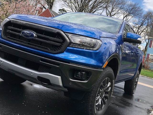 The Ford Ranger and the Chevy Colorado battle it out in a contest of mid-size pickup trucks (F, GM)