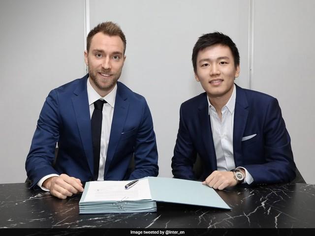 Inter Milan Sign Christian Eriksen From Tottenham Hotspur