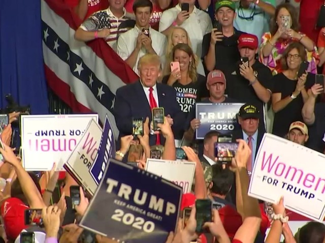President Trump says he's not happy with 'send her back' chant at North Carolina rally