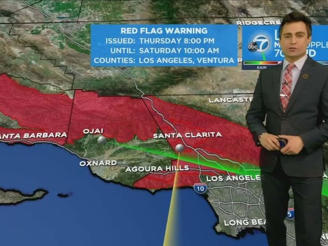 Warm, dry, gusty conditions trigger red flag warning for most of Southland