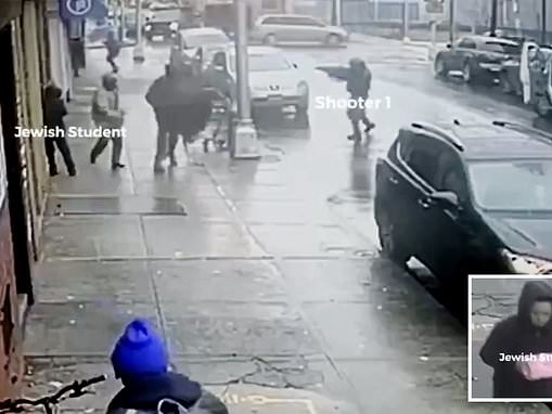 Jewish boy narrowly avoids running into the path of the Jersey City shooters during massacre