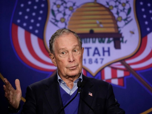 Mike Bloomberg, at site of racial massacre, vows aid for African Americans