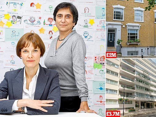 Founders of JustGiving buy new multi-million-pound homes two years after selling website