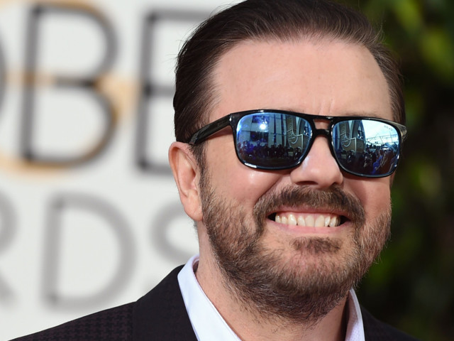 Ricky Gervais to host the Golden Globes in 2020