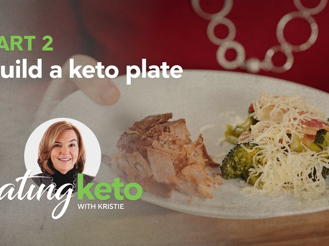 How do you build a keto plate?