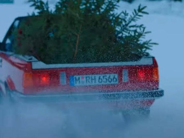 BMW Wishes Us A Merry Christmas With One-Off E30 M3 Pickup