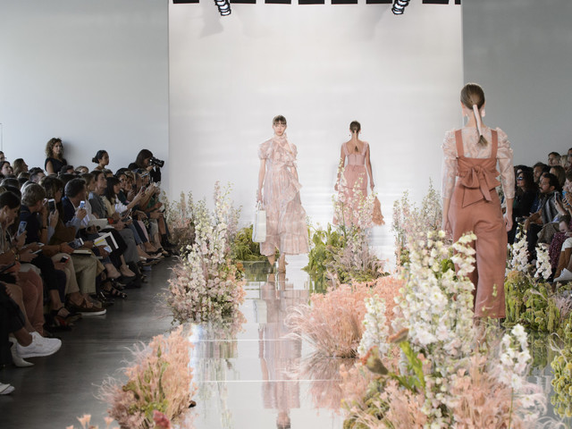 Fashion's Fluffy Flower Obsession, Explained