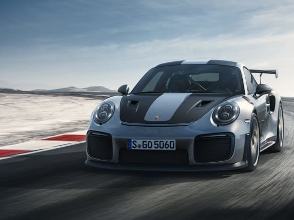 Porsche Unleashes a 700-HP Track Monster: The 911 GT2 RS