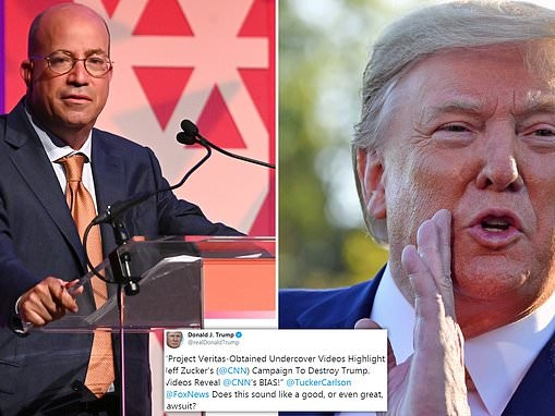 Trump 'threatens lawsuit' after CNN technician claimed network is 'obsessed' with president