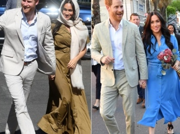 The Duke & Duchess Of Sussex Fabulously Kick Off South Africa Tour – Baby Archie Tags Along Too!