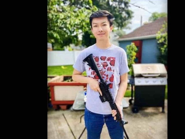 Elite college bans student from campus over AR-15 photo marking Tiananmen Square anniversary, demands apology — but he isn't backing down