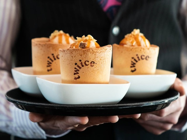 This airline is replacing millions of single-use cups with tasty edible ones