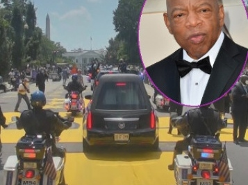Moments You May Have Missed From Congressman John Lewis' Capitol Memorial