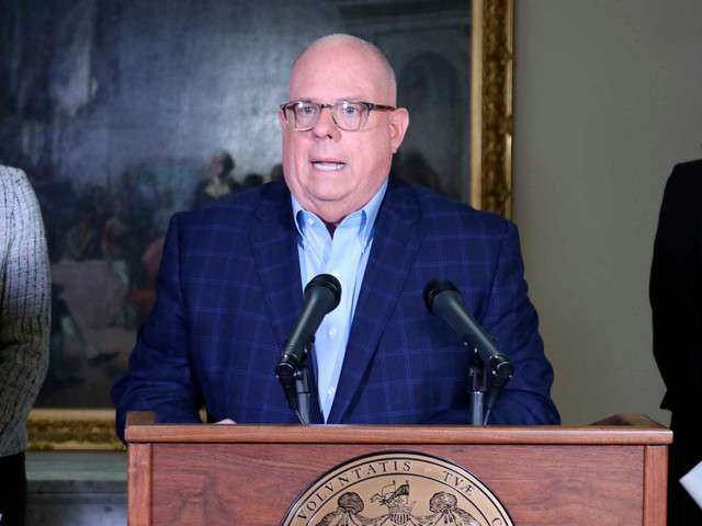 Maryland GOP Gov. Hogan says Trump's COVID-19 testing claims 'just not true'