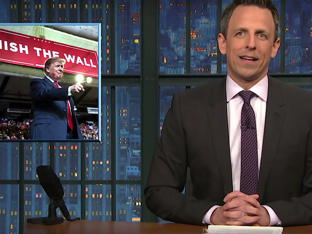 Seth Meyers Nails Reason Why 'We Do Need To See' Trump's Tax Returns