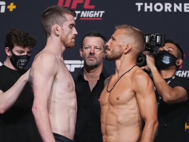UFC Vegas 32: Sandhagen vs. Dillashaw live results, discussion, PBP