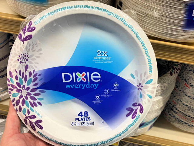 Better Than FREE Dixie Everyday Paper Plates or Bowls at ShopRite! {12/15- Rebate}