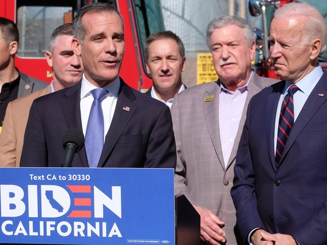 LA Mayor Garcetti on endorsing Biden and helping the homeless