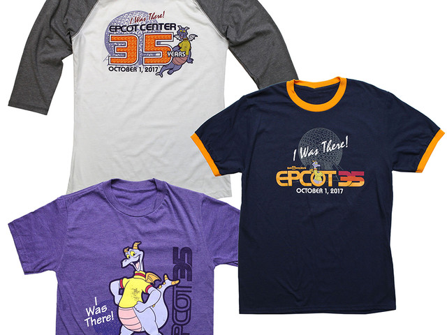 New 'I Was There' Merchandise Celebrates Epcot's 35th Anniversary