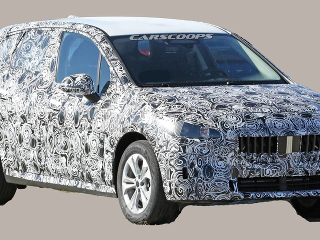 2021 BMW 2 Series Active Tourer Grows Up, Adopts SUV Styling Cues