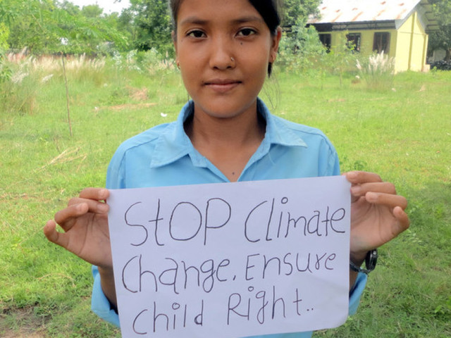 While The Adults Meet On Climate Change, Youth Are Acting