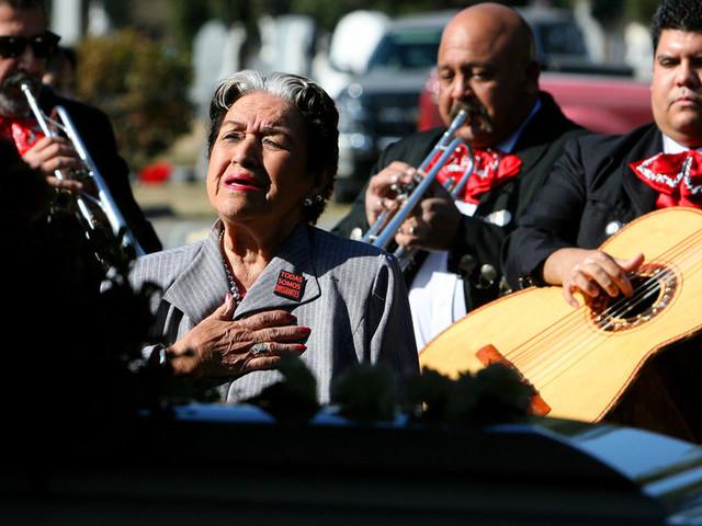 Rita Vidaurri, Ranchera Singer Who Reclaimed Her Career, Dies at 94