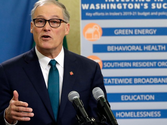 Washington Governor Jay Inslee announces 2020 presidential bid