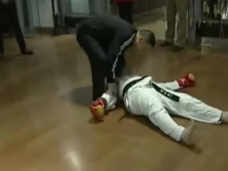 Watch: Muay Thai vs. Taekwondo ends in devastating KO