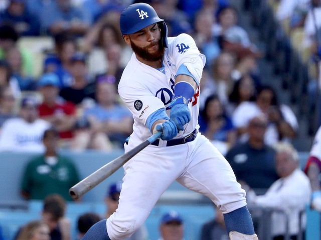 Russell Martin delivers winning hit and Kenley Jansen gets save in Dodgers win