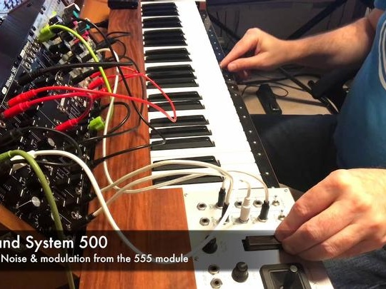 Ian Boddy Synth Jam: System 500, Clouds And Ondes