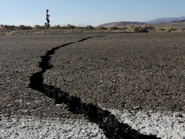 A California fault capable of producing a magnitude 8 earthquake has started 'creeping.' It's not the only one.