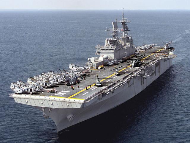 Amphibious Assault Ship Bataan With 2,000 Marines On Board Is Headed Toward Iraq