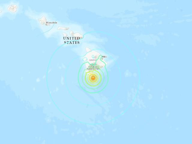 6.2 magnitude earthquake hits southern coast of Hawaii