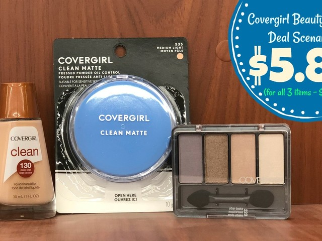 Covergirl Items as low as $1.96 each with Kroger Beauty Event!