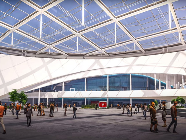 YouTube wins naming rights for 6,000-seat event venue at Hollywood Park