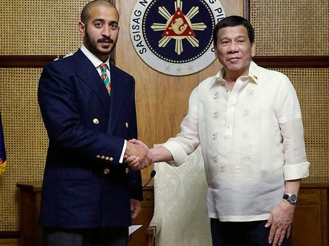 How Bahrain used MMA for diplomacy with Philippines' Duterte