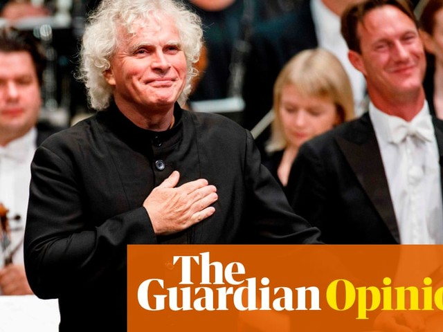 Simon Rattle is leaving London. Is this a taste of the capital's future?   Charlotte Higgins
