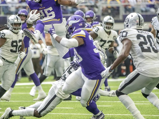 Vikings running back Alexander Mattison becomes reliable backup for Dalvin Cook