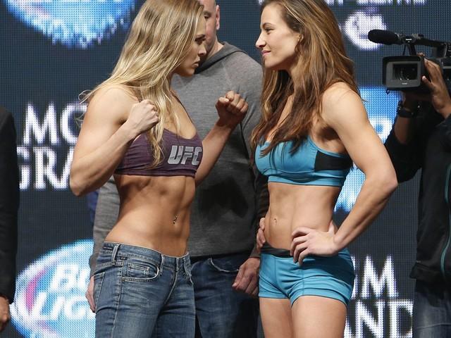 Miesha Tate on Ronda Rousey: 'I wouldn't say hi to her'
