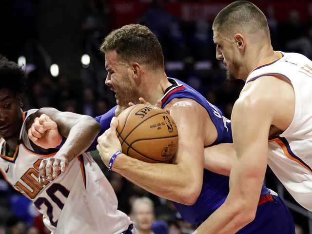 Clippers pick up another win, 130-88 over Suns, and another injury
