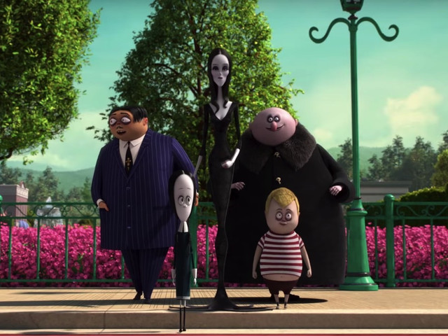 5 new movie trailers to watch from this past week: The Addams Family, Honey Boy, and more