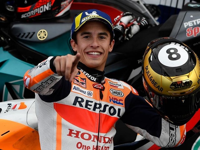 Marc Marquez Wins Season-Ending MotoGP At Valencia
