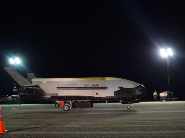 Air Force X-37B lands successfully after completing record 780 days in orbit