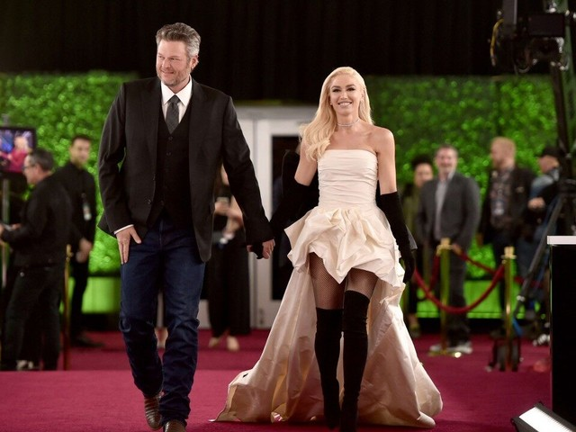 Blake Shelton and Gwen Stefani Celebrate His GRAMMY Nomination