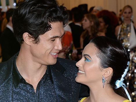 'Riverdale's Camila Mendes Gushes Over Charles Melton On 1-Year Anniversary With PDA Pic: 'I Love You'