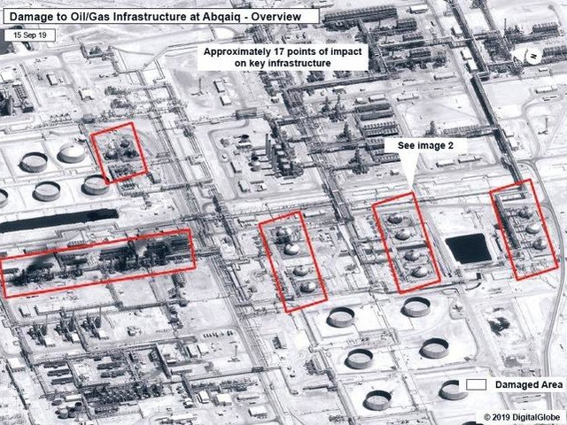 "Satellite Images Reveal It Would Take ""Months"" To Fix Saudi Oil Facility"
