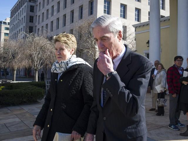 Robert Mueller, wife Ann attend church near White House as world awaits report findings